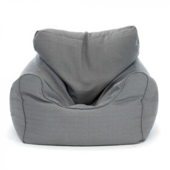 Extra large gray outdoor Bean Bag