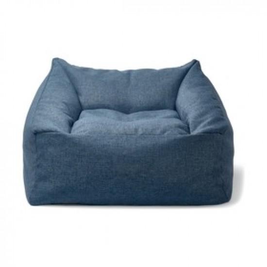 Blue sofa type cozy big size beanbag