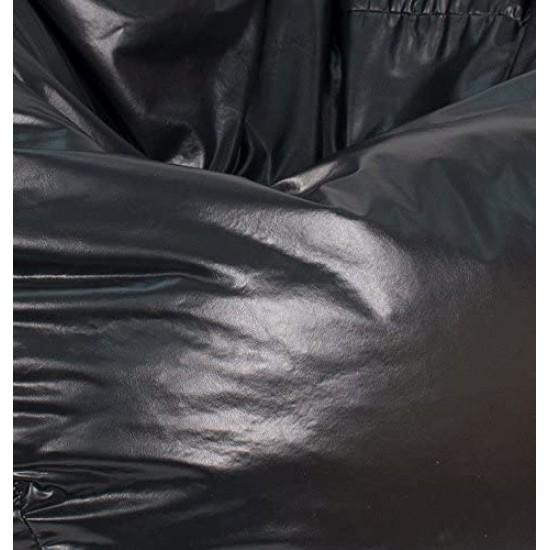 Gold Medal Leather Vinyl Black Faux | Classic Bean Bags